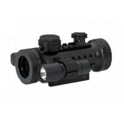 BSA Stealth Tactical Range weaver,трех цветная марка Duplex Reticle